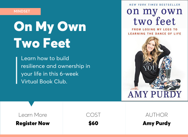 on my own two feet book club