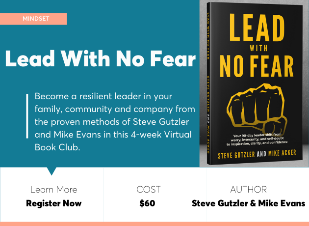 lead with no fear book club