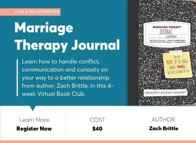 marriage therapy journal book club
